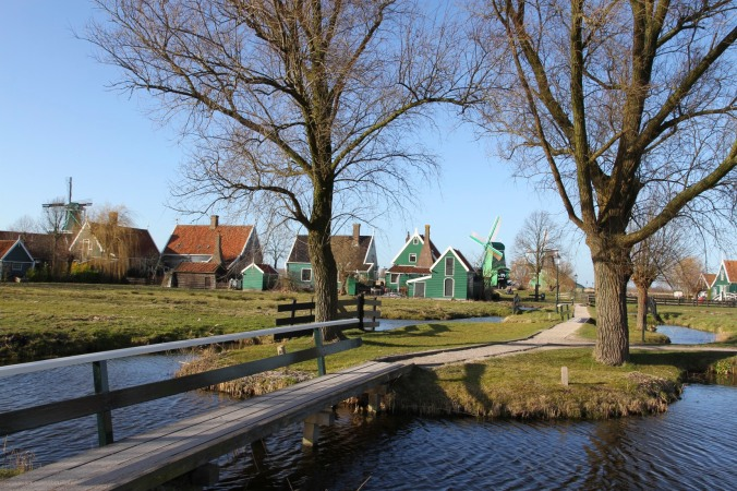 Zaanse Schans village, The Netherlands