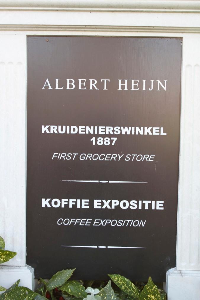 Albert Heijn's first store, Zaanse Schans village, The Netherlands