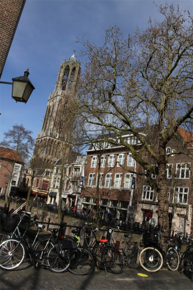 The Domtoren and canals, Utrecht, The Netherlands