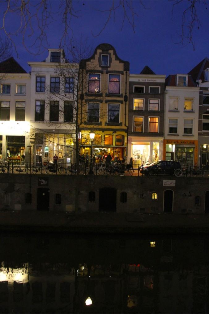Utrecht by night, The Netherlands