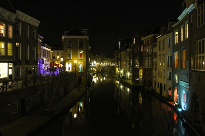 Utrecht by night, The Netherlands