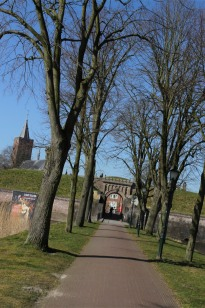 Main city gate, Naarden, The Netherlands
