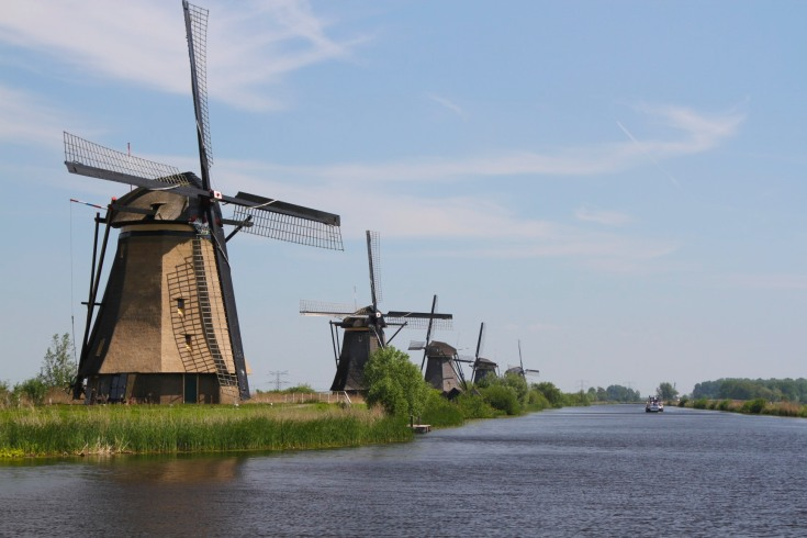Windmills of Kinderdijk
