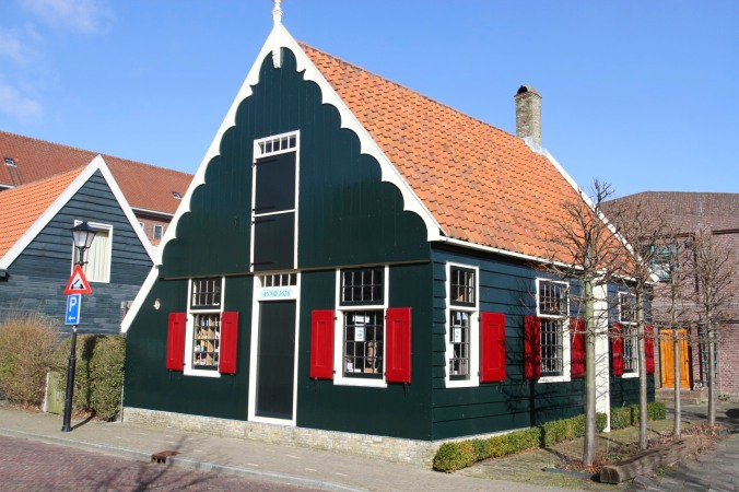 Zaandijk village, Zaanse Schans, The Netherlands
