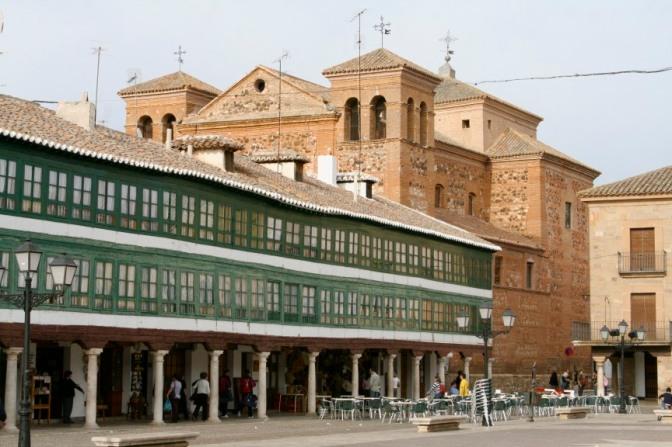 Plaza Mayor, Almagro, Castilla-La Mancha, Spain