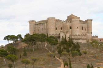 Castle at Belmonte, Castilla-La Mancha, Spain