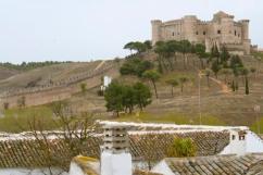 Castle at Belmonte, Castilla-La Mancha, Spain