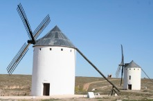 Windmills at Campo de Criptana, Castilla-La Mancha, Spain