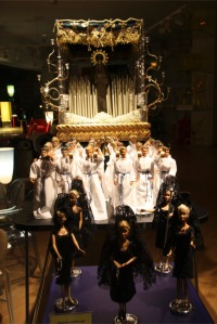 Semana Santa model, Malaga, Andalusia, Spain