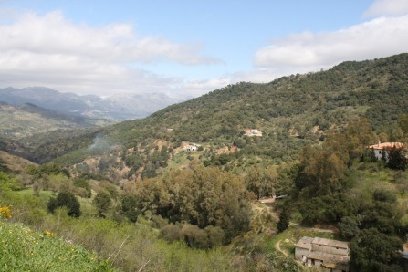 View from Gaucin, Andalusia, Spain