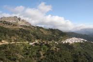 En route to Jubrique, Andalusia, Spain