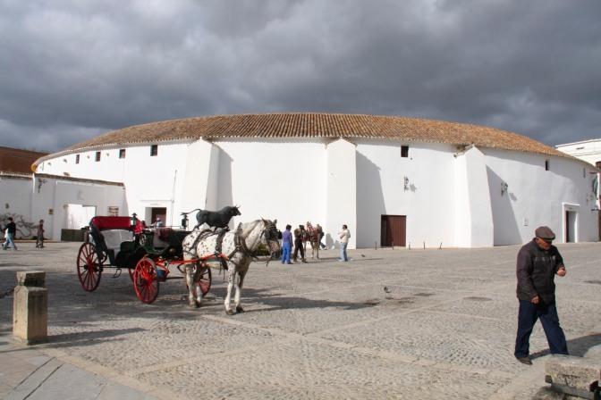 Bullring, Ronda, Andalusia, Spain