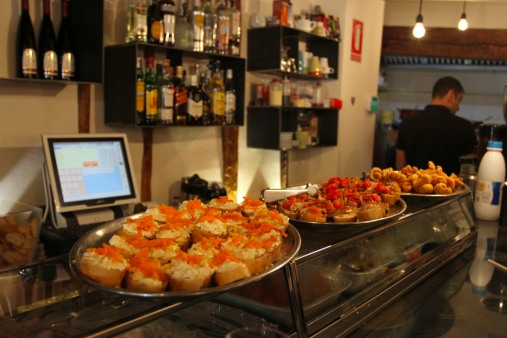 Restaurant, Cuenca, Castilla-La Mancha, Spain