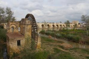 Water wheel, Cordoba, Andalusia, Spain