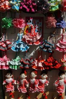 Tourist merchandise, Cordoba, Andalusia, Spain