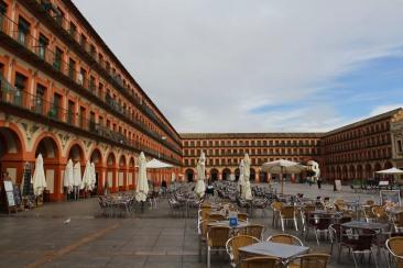 Plaza de Corredera, Cordoba, Andalusia, Spain