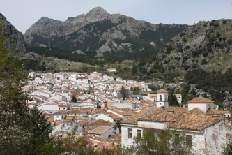 Village of Grazalema, Sierra de Grazalema, Andalusia, Spain
