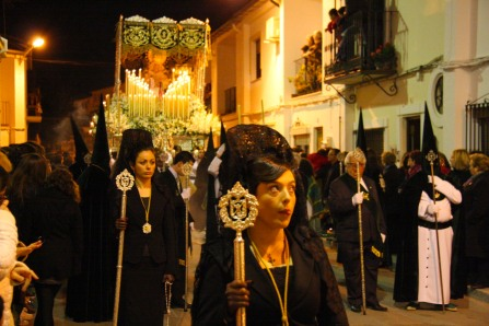 Semana Santa in Ronda, Andalusia, Spain