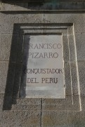 Monument to Francisco Pizarro, Trujillo, Extremadura, Spain