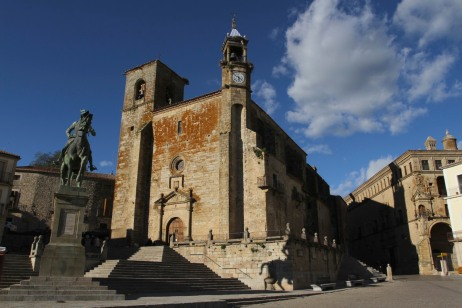 Cathedral, Trujillo, Extremadura, Spain