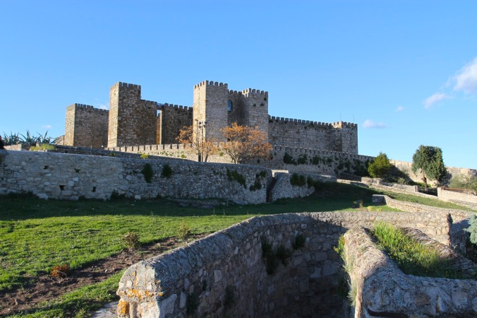 Castle, Trujillo, Extremadura, Spain