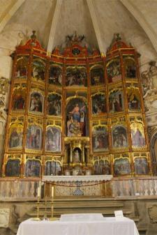Church interior, Trujillo, Extremadura, Spain