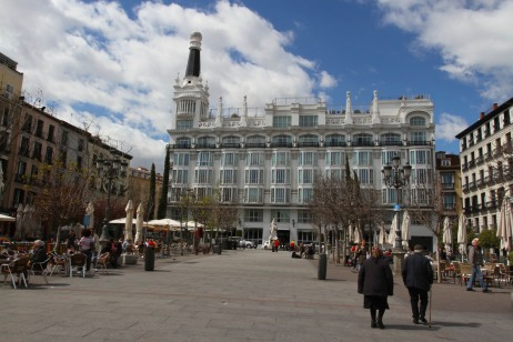 Plaza Santa Ana, Madrid, Spain