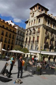 Musicians, Madrid, Spain