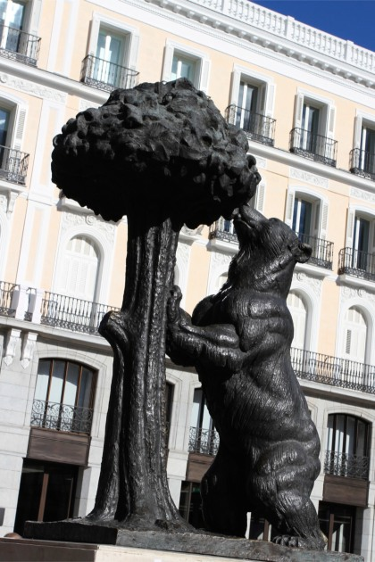 The Madrid bear, Madrid, Spain