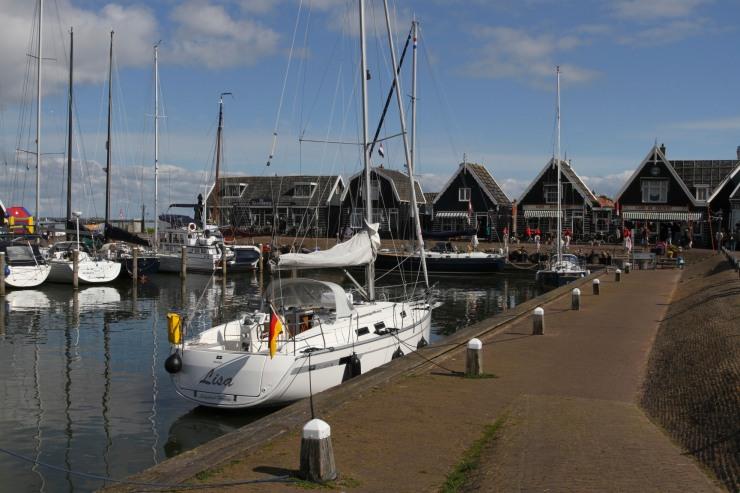 Marken harbour, Waterlands, Netherlands