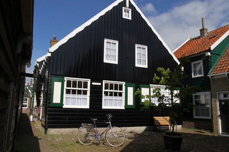 Fishermen's cottages, Marken, Waterland, Netherlands