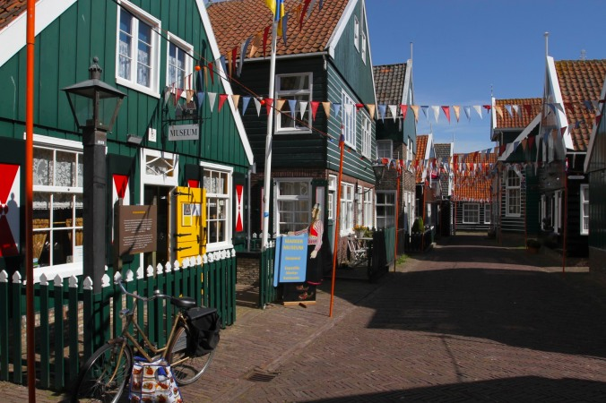 Mainstreet, Marken, Waterland, Netherlands