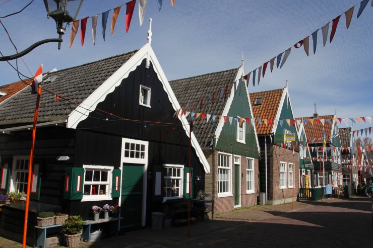 Mainstreet, Marken, Waterland, Netherlands