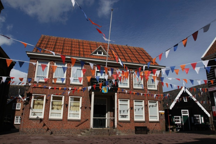 Town Hall, Marken, Waterland, Netherlands