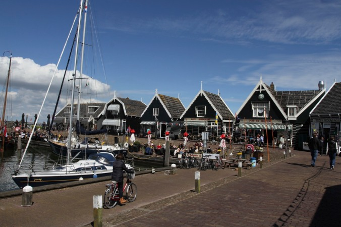 Harbour, Marken, Waterland, Netherlands