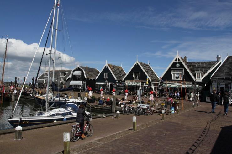 Harbour, Marken, Waterland, Netherlands