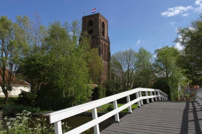 Ransdorp tower, Waterland, Netherlands