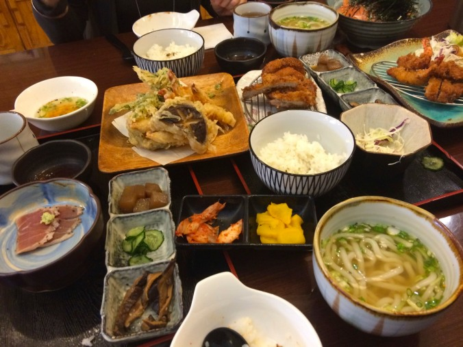 Korean food in Daegu, South Korea