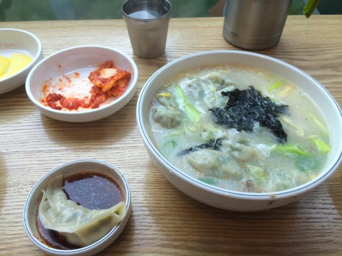 Lunch, Gyeongju, Korea