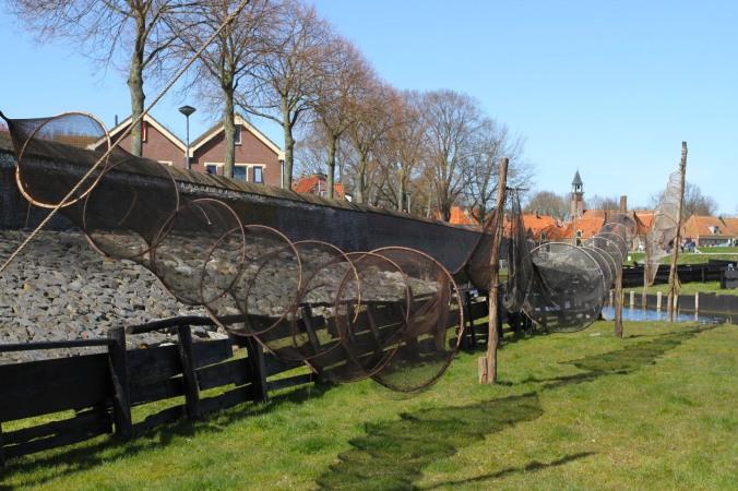 Fishing nets, the Zuiderzee Museum, Enkhuizen, Netherlands