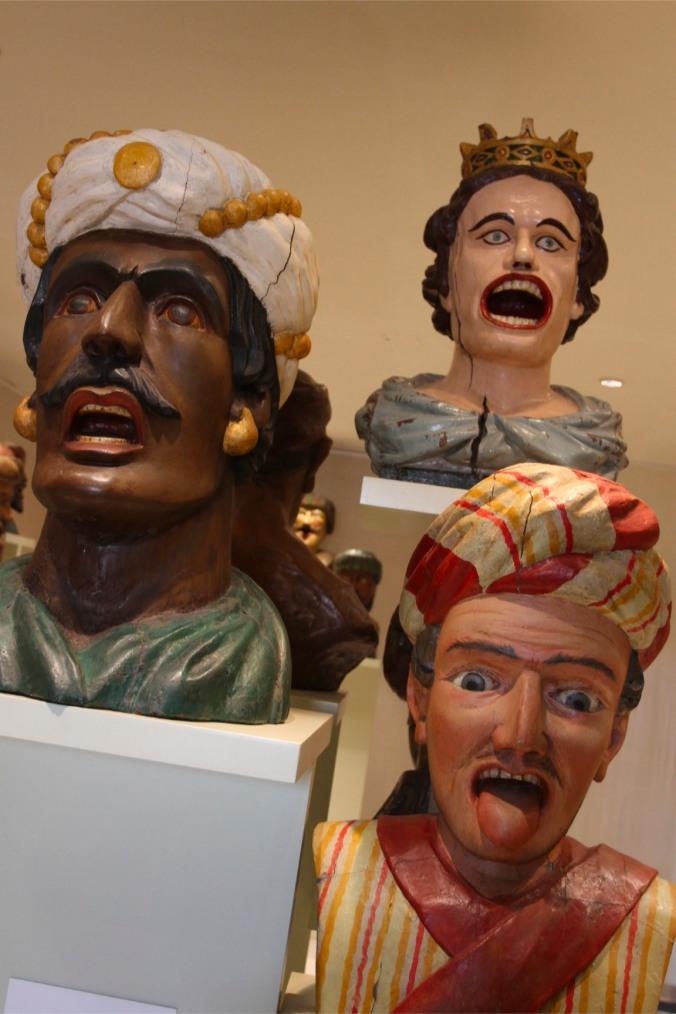 Gapers, the Zuiderzee Museum, Enkhuizen, Netherlands