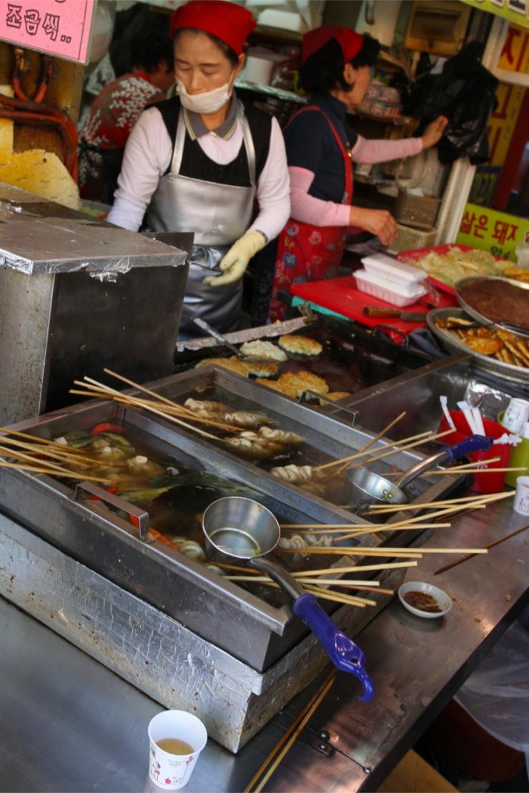 Street food, Daegu, Korea