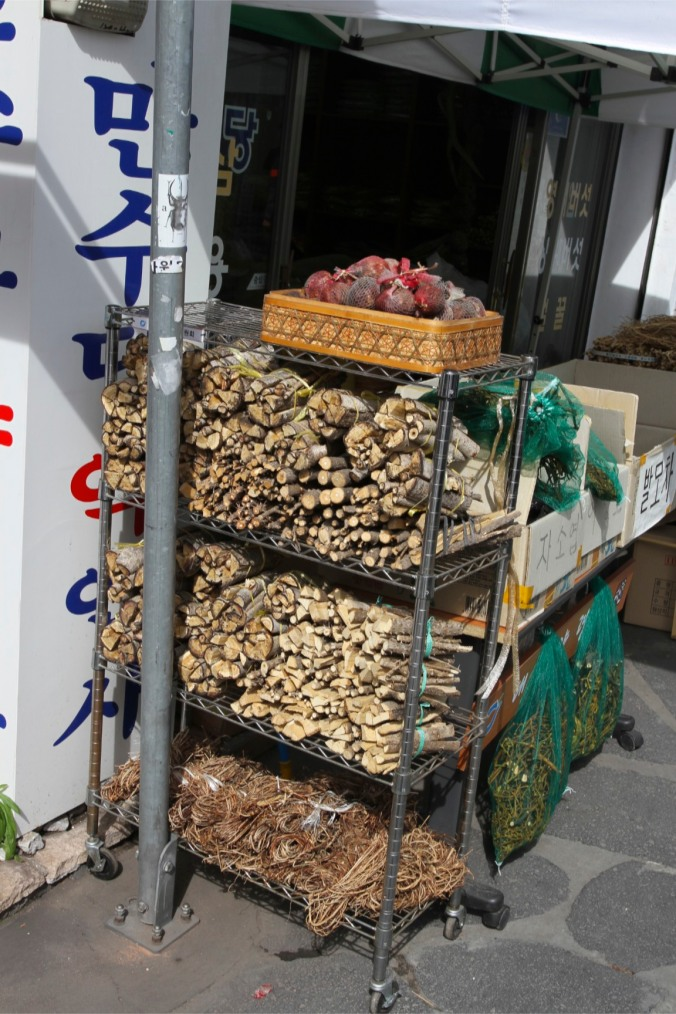 Traditional herbal medicine market, Daegu, Korea