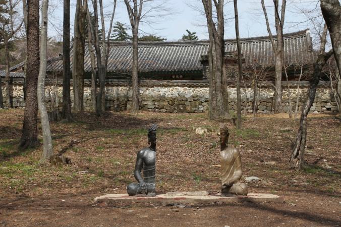 Split Buddha, Buddhist Temple, Haein-sa, Korea