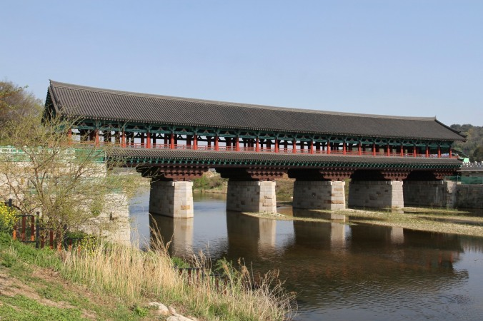 Traditional bridge, Gyeongju, Korea