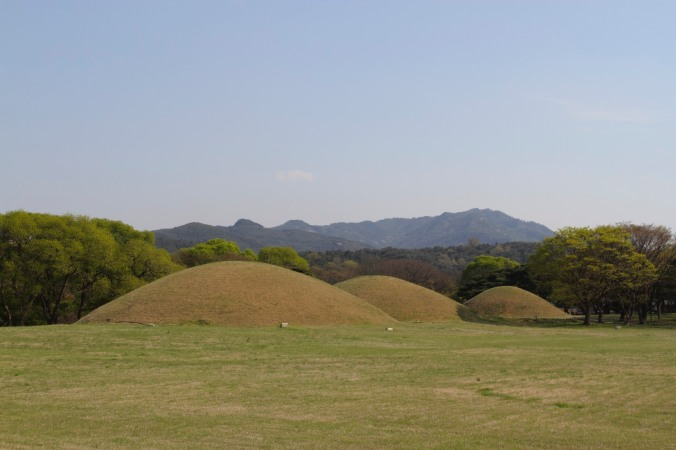 Silla Tombs, Gyeongju, Korea
