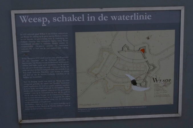 Explanation of the Defence Line, Weesp, Netherlands