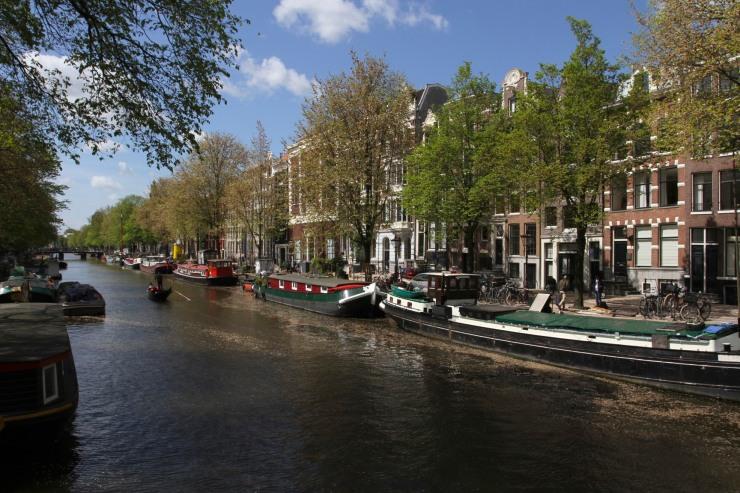 Canals, Amsterdam, Netherlands