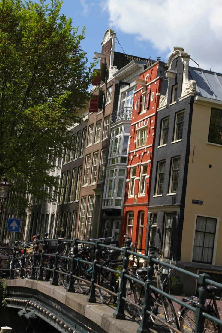 Traditional Dutch houses, Amsterdam, Netherlands