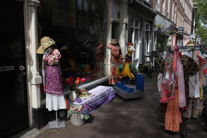 Shops, Amsterdam, Netherlands